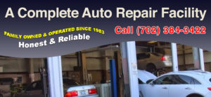 Las Vegas Wheel Alignment & Brake Service